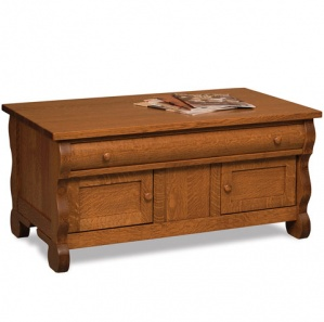 Olde Sleigh Amish Coffee Table Cabinet