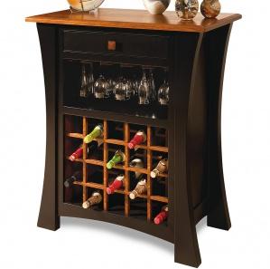 Grove Park Amish Wine Cabinet