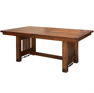 Jordan Plank Top Amish Dining Table