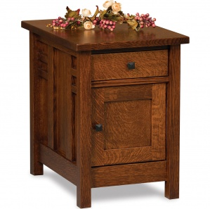 Kascade Amish End Table Cabinet