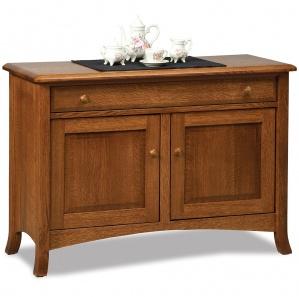 Summerfield Amish Sofa Table Cabinet