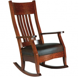 MacArthur Amish Rocking Chair