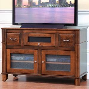 Arlington Heights Amish TV Console with Flip-Up Door