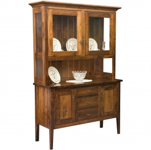 Williamsburg Amish Buffet & Optional Hutch
