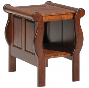 Belvedere Sleigh Amish End Table