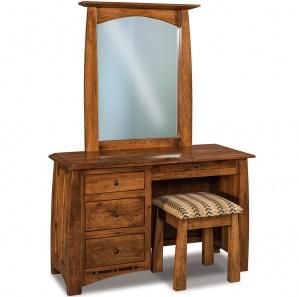 Boulder Creek Vanity Dresser with Optional Mirror & Bench