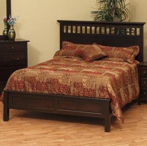Vintage Amish Bed