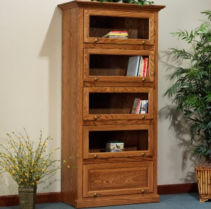 "Highland 40 1/4"" Barrister Amish Bookcase"