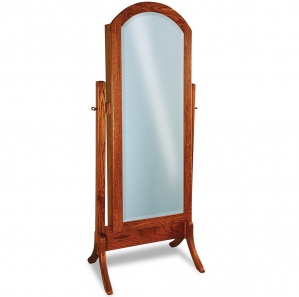 Summerfield Arched Amish Cheval Mirror