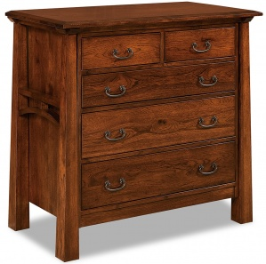 Artesa 5 Drawer Child's Amish Dresser