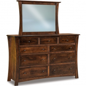 Matison 9 Drawer Dresser with Optional Mirror