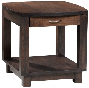 Kirby Lane Amish End Table with Drawer