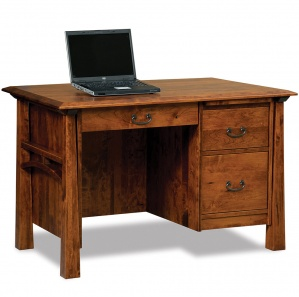 Artesa Single Pedestal Amish Desk