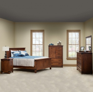 Modern Master Bedroom Set Handcrafted Solid Wood Bedroom Furniture Merrill Road