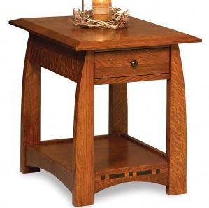 Boulder Creek Amish End Table