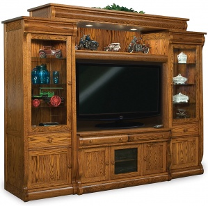 Olde Sleigh Media Wall Units