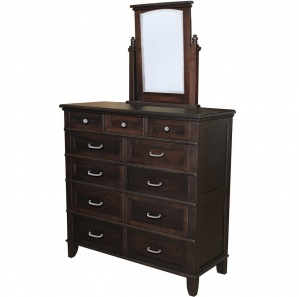 Plymouth Lady's Dressing Chest of Drawers with Optional Mirror