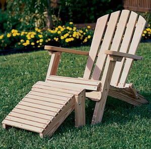 Grand Lakes Folding Amish Adirondack Chair