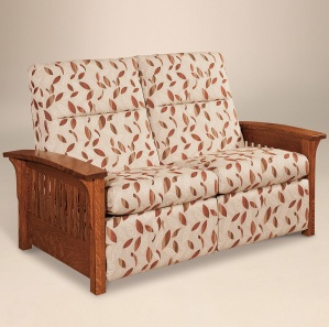 Avery Slat Loveseat Recliner