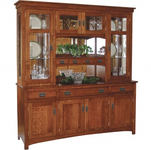 Barrington Amish Buffet & Optional Hutch