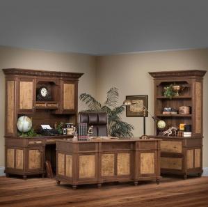 Bridgeport Deluxe Office Furniture Set