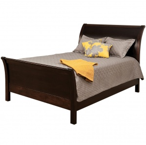 Urban Sleigh Amish Bed