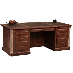 "Jefferson Premier 82"" Executive Desk"