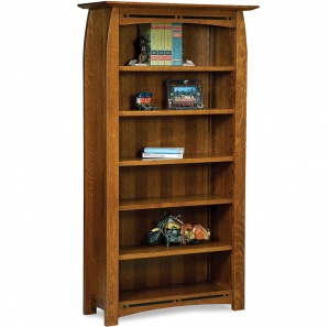 Boulder Creek Tall Amish Bookcase