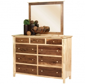 Sotheby Amish Dresser with Mirror Option