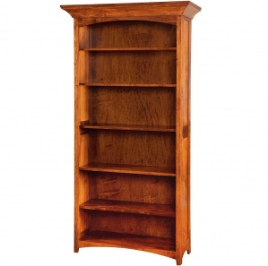 "Belmont 36"" Adjustable Shelf Bookcase"