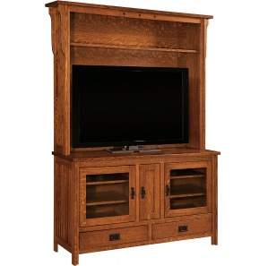 Royal Mission TV Cabinet and hutch