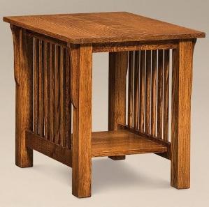 Avery Slat End Table
