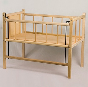 Amish Doll Crib
