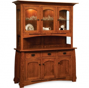 Colebrook Buffet & Optional Hutch