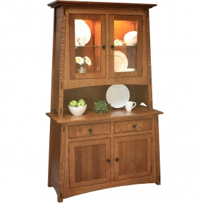 McCoy Amish Buffet with Hutch Option
