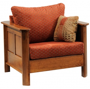 Parkhurst Amish Chair with Ottoman Option