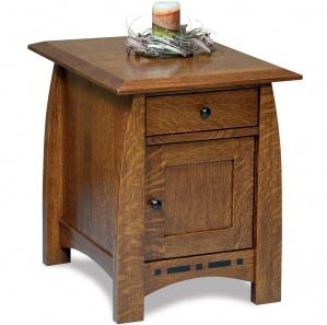 Boulder Creek Amish End Table Cabinet