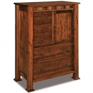 Sequoyah Amish Gentleman's Chest of Drawers
