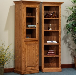 "Highland 22 1/4"" Tower Amish Bookcase"