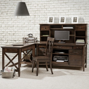 Newport Amish Office Furniture Set
