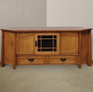 Mariposa Corner Amish TV Cabinet