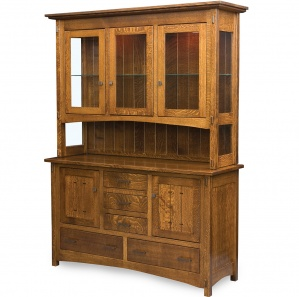 Crestline Buffet & Optional Hutch