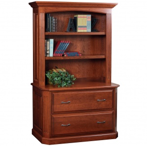 Buckingham Lateral File with Optional Hutch