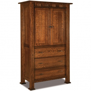 Sequoyah Amish Armoire