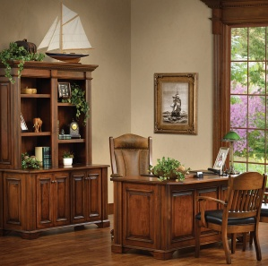 Lincoln Amish Office Furniture Set