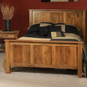 Birchman Straight Amish Bed