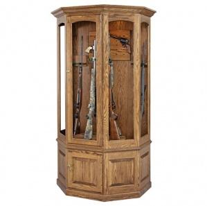 Masterson Revolving 16 Gun Wall Cabinet