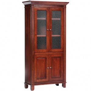 Arlington Manor Bookcase with Doors