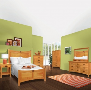 Providence Amish Bedroom Set