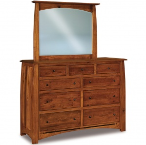 Boulder Creek Amish Dresser with Mirror Option